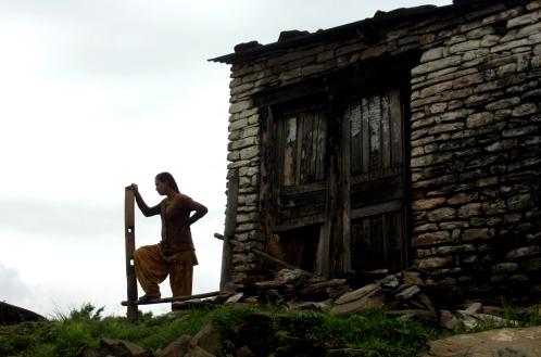 Sarangot, Nepal 2013